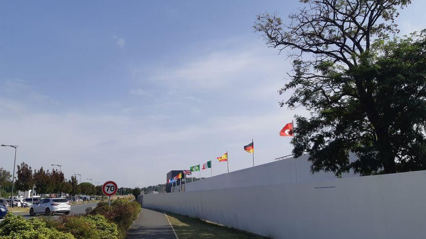 Le circuit d'Albi est le seul en France a être situé dans un centre-ville.