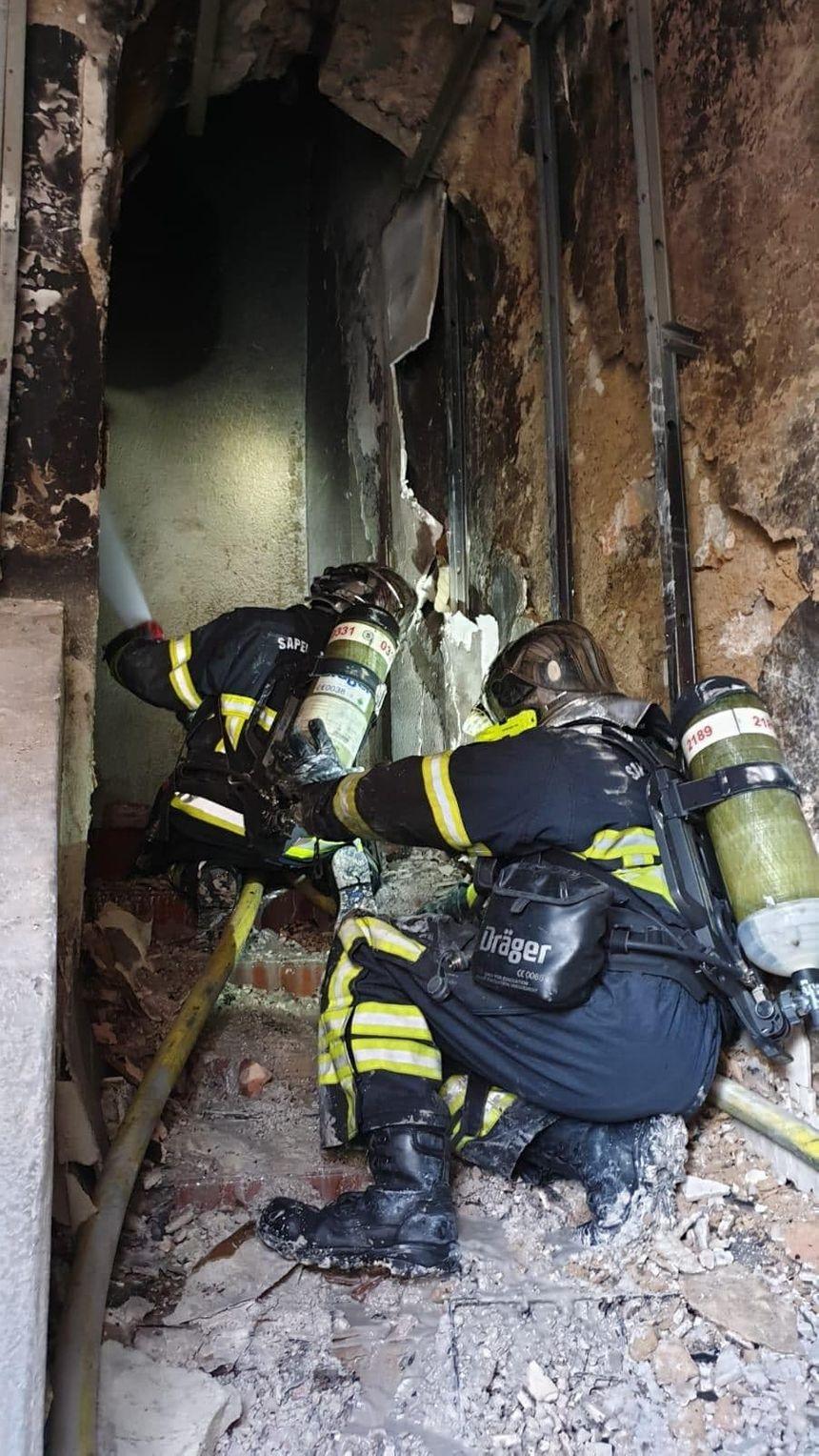 Une quarantaine de sapeurs-pompiers ont été engagés