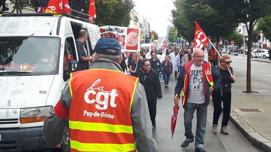 A Clermont, la CGT a réussi à mobiliser contre la réforme des retraites