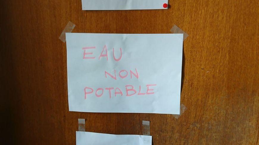 L'eau n'est pas potable dans deux bâtiments de l'Université Sorbonne Nouvelle