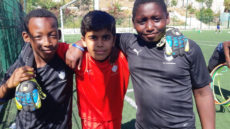 Des minots du FC Castellane