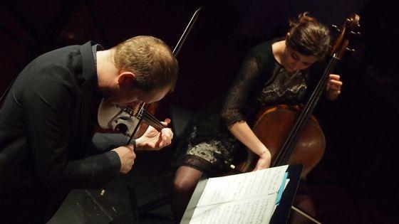 Duo Tartini : David Plantier, violon – Annabelle Luis, violoncelle