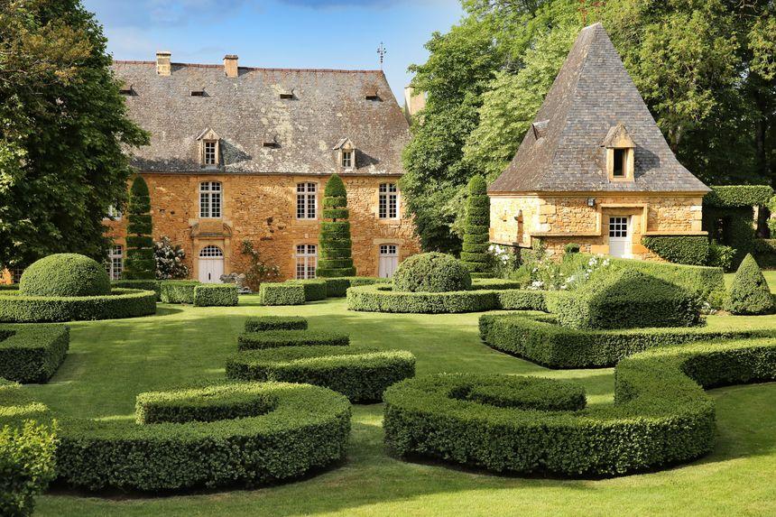 Le manoir des jardins d'Eyrignac à Salignac Eyvigues