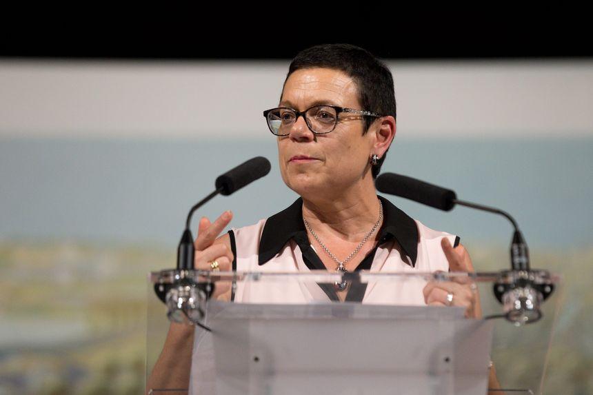 La présidente LR du Conseil Départemental du Doubs Christine Bouquin.