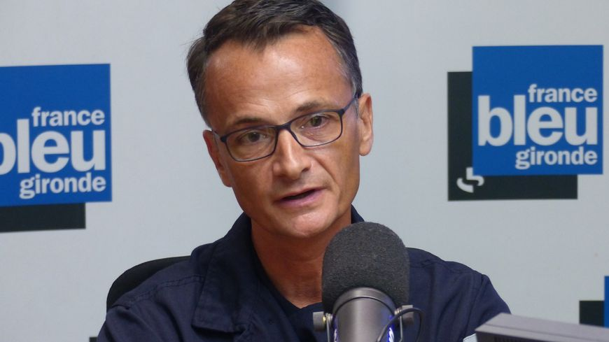 Jean Billard, représentant Unsa des pompiers de la Gironde