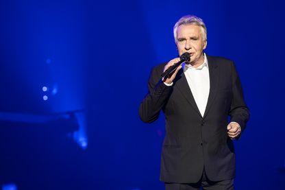 Michel Sardou en concert à l'Olympia à Paris en 2013