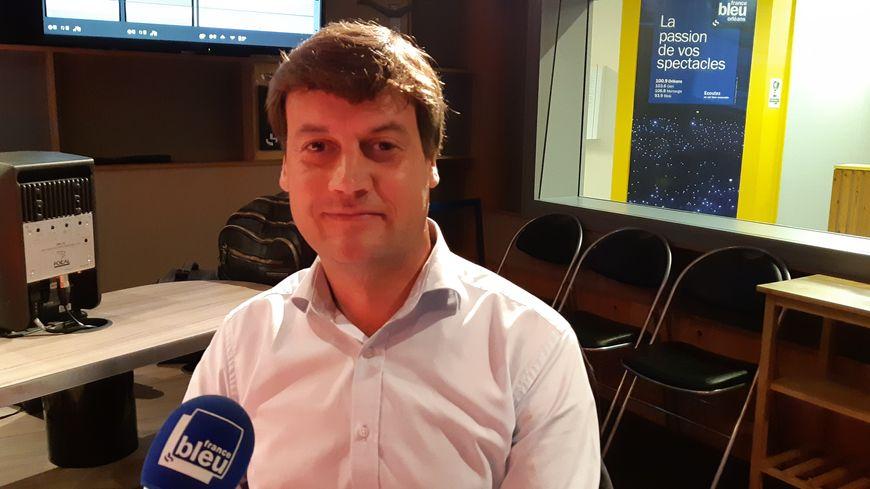 Alexandre Nioche, vice-président de la chambre d'agriculture du Loiret et militant FDSEA