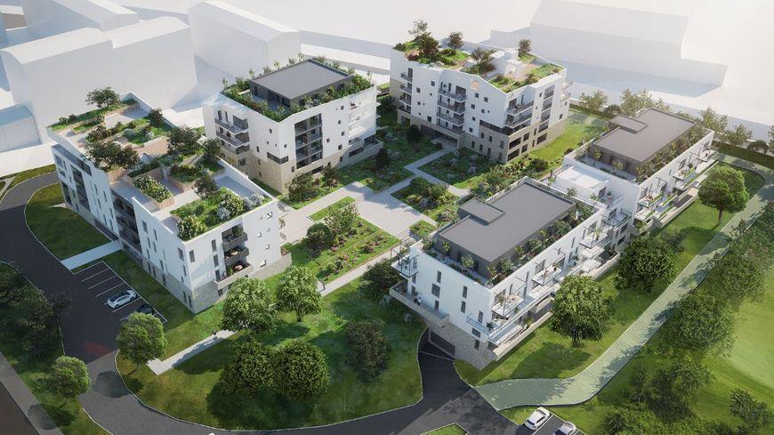 Le projet Lilitegia (vue aérienne)