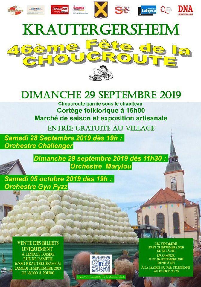 46ème Fête de la choucroute de Krautergersheim