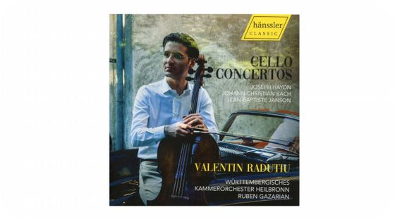 Valentin Radutiu - Cello Concertos