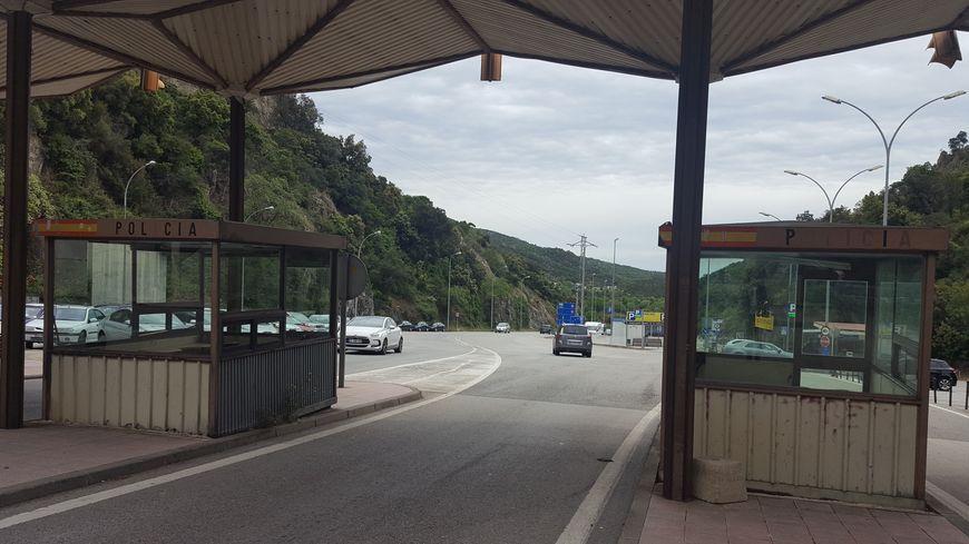 La frontière franco-espagnole au Perthus