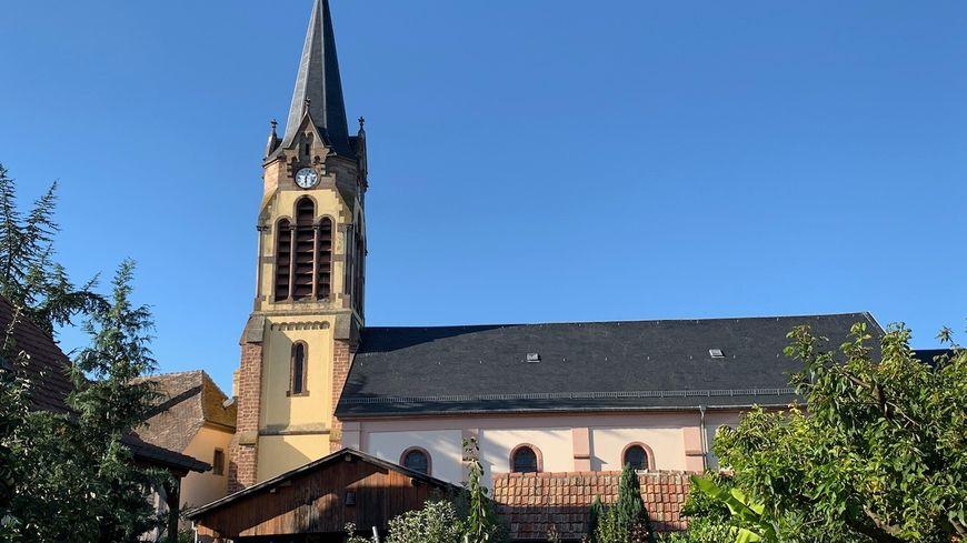 Riedwihr, l'église Sainte Marguerite