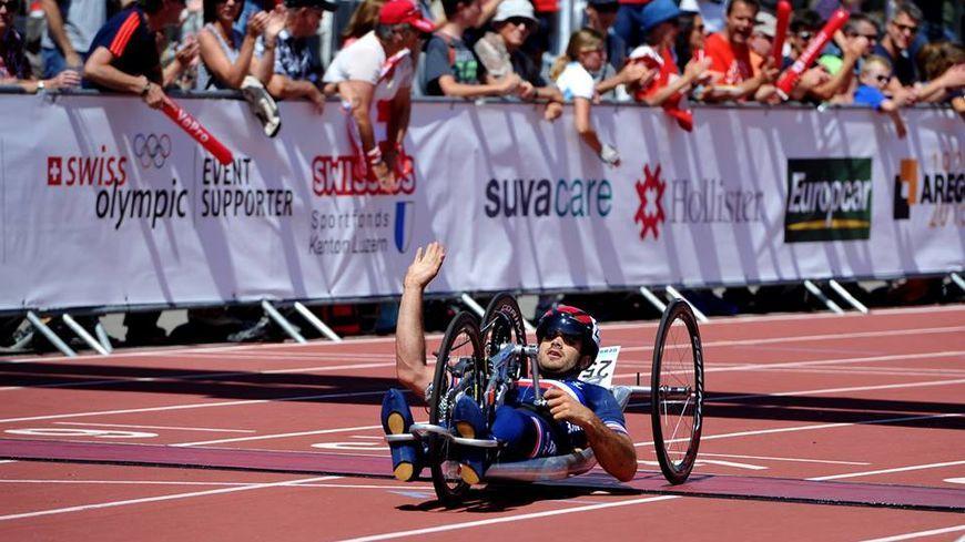 Mathieu Bosredon dispute les Mondiaux de paracyclisme aux Pays-Bas