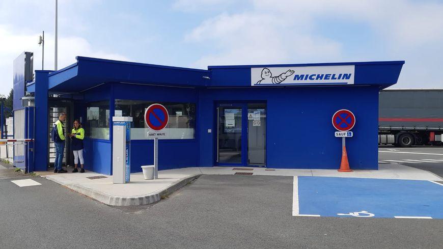 L'usine Michelin de La Roche-sur-Yon, mardi 17 septembre.