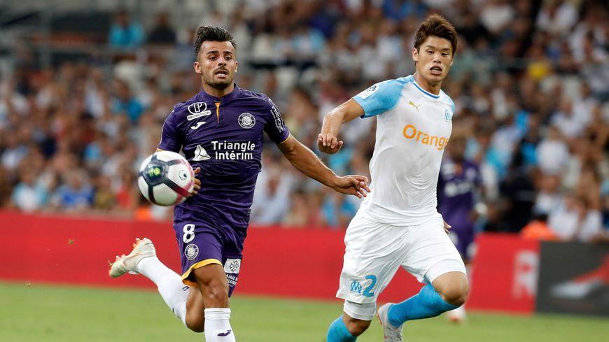 Corentin Jean face au Marseillais Sakai la saison dernière.