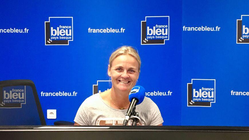 Perle Bouge championne d'aviron handisport