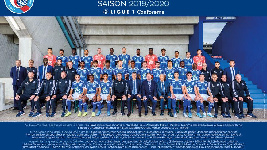 La photo officielle du Racing Club de Strasbourg