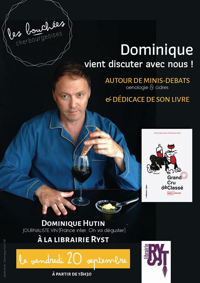 Dominique Hutin participe aux Bouchées cherbourgeoises 2019