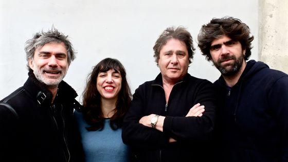 Christophe Lavergne, Sarah Murcia, Louis Sclavis, Benjamin Moussay