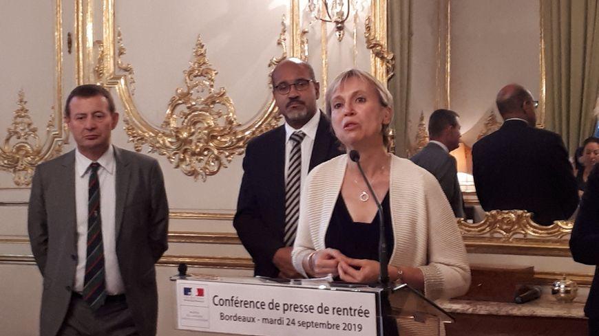 Fabienne Buccio a tenu ce mardi matin sa conférence de presse de rentrée