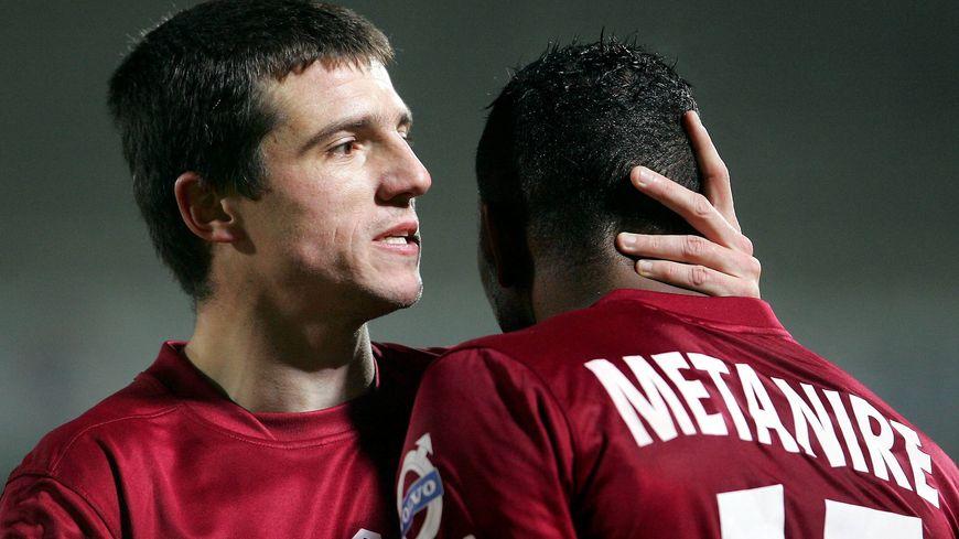 Grégory Proment, lors de sa dernière saison avec le FC Metz, en 2011/2012