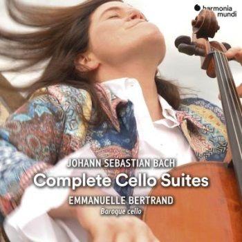 CD Emmanuelle Bertrand Six Suites pour violoncelle seul