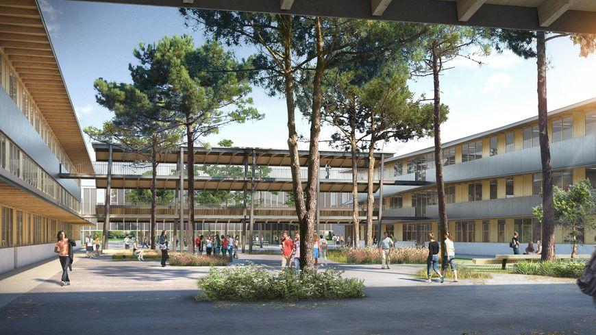 Futur Lycée du Barp