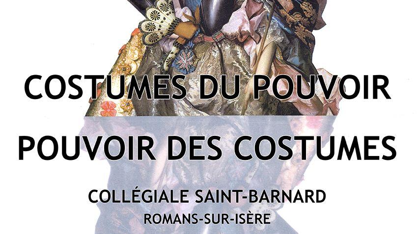 Exposition « Les costumes du pouvoir, le pouvoir des costumes » du 21 septembre au 5 octobre 2019