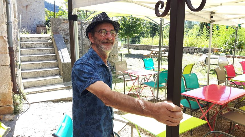 """Michel Roussel , dit Léon , un des membres fondateurs de """"Chez Mialet"""""""