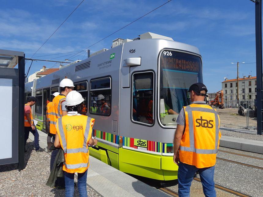 La ligne 3 du tramway est encore en phase d'essai