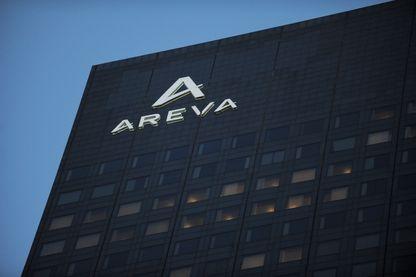 Le siège d'Areva, à La Défense, près de Paris.