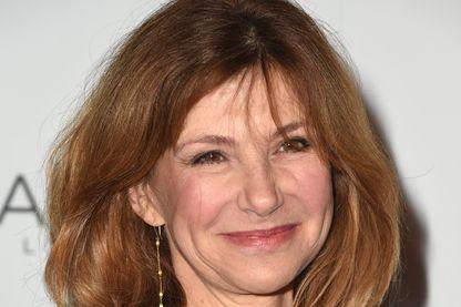 """L'actrice, Florence Pernel pour la pièce """"Suite française"""" au Théâtre la Bruyère."""