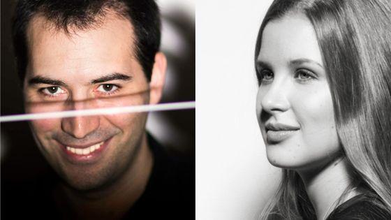 Kornilios Michailidis et Emilia Hoving, tous deux nommés nouveaux chefs assistants de l'Orchestre Philharmonique de Radio France pour la saison 2019-2020