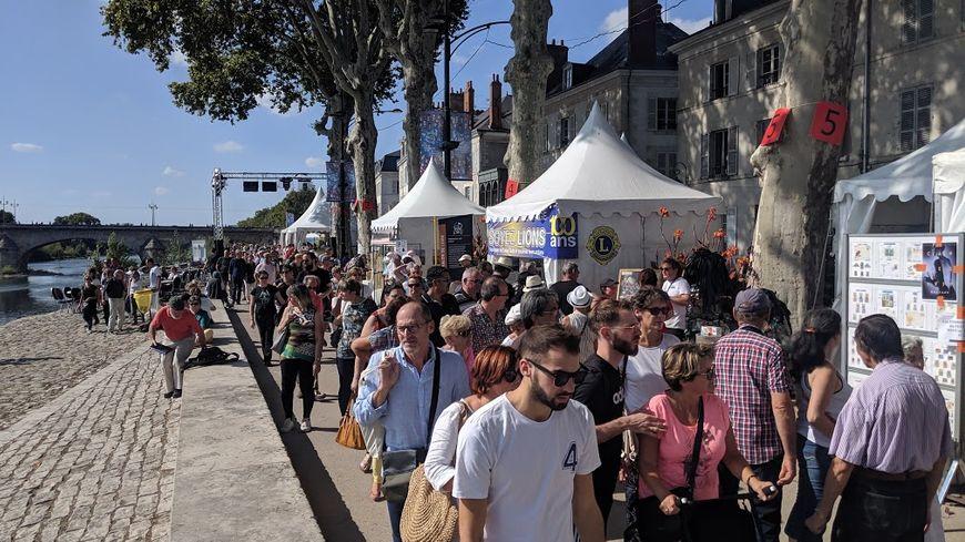 Dès le début d'après-midi, les quais du Festival de Loire étaient combles ce samedi.