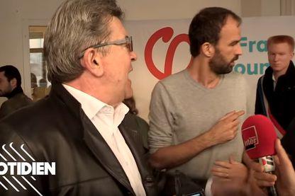 Jean-Luc Mélenchon comparait jeudi et vendredi à Bobigny pour des incidents ayant émaillé la perquisition d'octobre 2018 au siège de son parti, la France Insoumise Auteur :