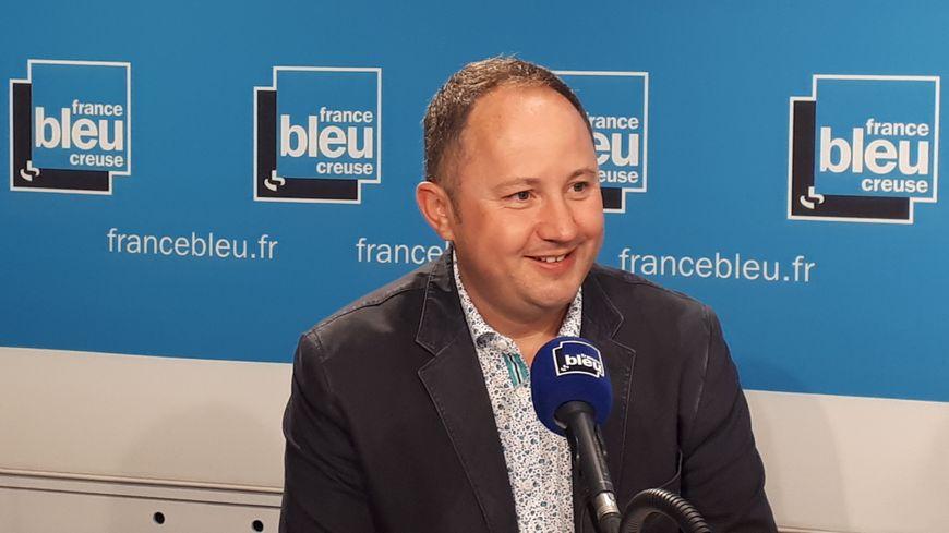 Nicolas Simonnet, vice-président du conseil départemental en charge du tourisme