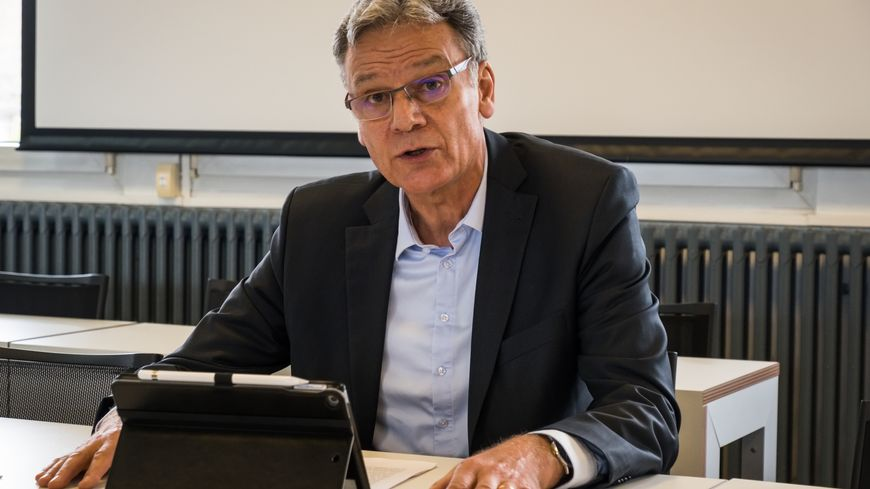 Alain Blinette, maire de Rigny et président de la Communauté de Communes du Val de Gray s'explique.