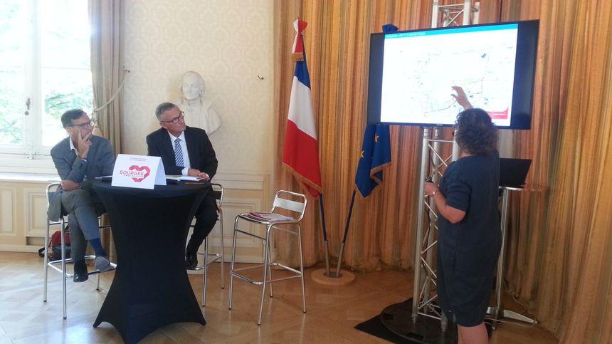 La ville de Bourges a annoncé un programme de 38 mesures pour reconquérir le centre ville.