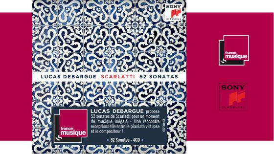 Lucas Debargue - Scarlatti / 52 Sonates