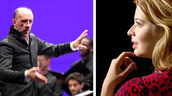 Hervé Niquet et Marie Perbost