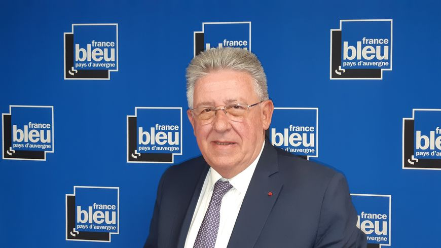 Jean-Yves Gouttebel, président du Conseil départemental du Puy-de -Dôme