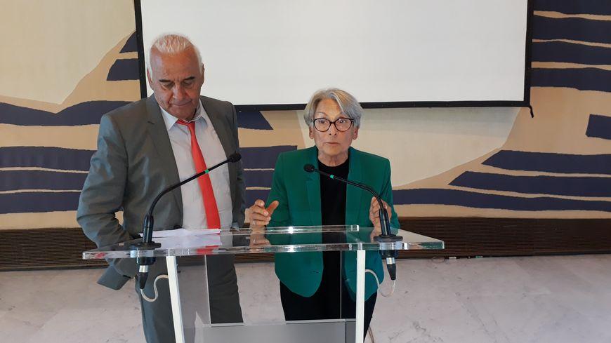 Michel et Claude Fugain, les deux enfants de Pierre, résistant et médecin grenoblois, lui ont rendu hommage lors d'une cérémonie organisée pour les 100 ans de sa naissance