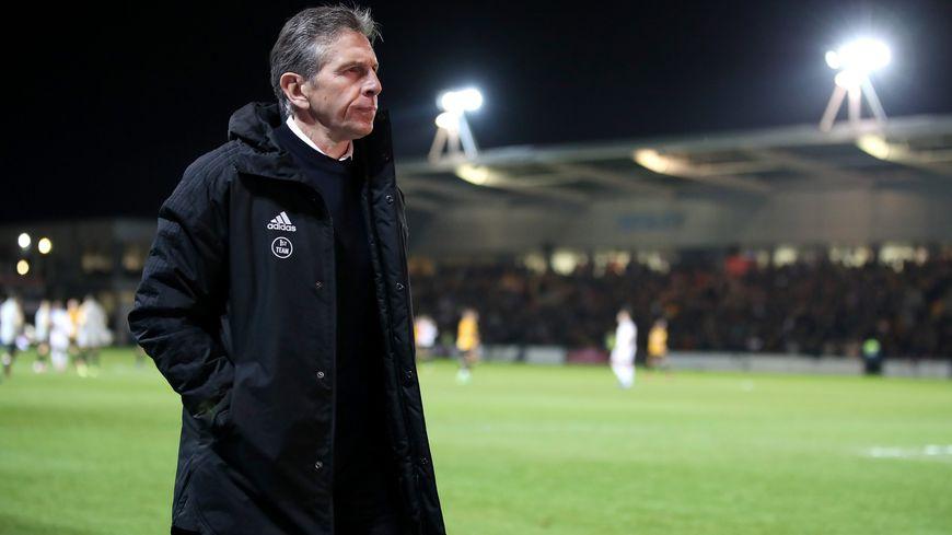 En début d'année Claude Puel était encore le manager du club anglais de Leicester.