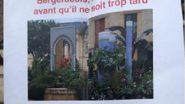 Ce tract a été distribué dans les rues de Bergerac samedi dernier