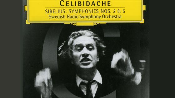 Sibelius, Symphonies n° 2 & 5, Swedish Radio Symphony Orchestra, Sergiu Celibidache