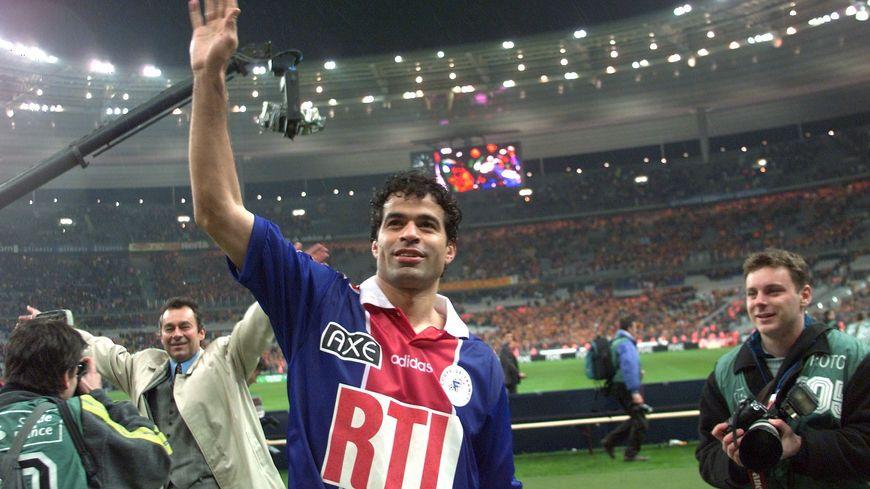 Raï sous le maillot du PSG en 1998