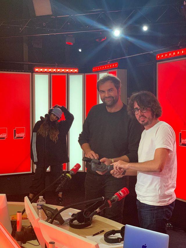 Eric et Quentin avec Chilla