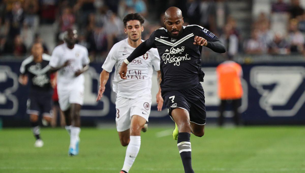 Ligue 1 - Dix minutes ont suffi aux Girondins de Bordeaux pour battre Metz (2-0)