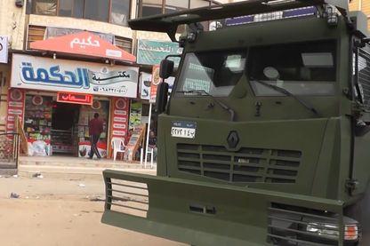 Véhicule MIDS de Renault Trucks Defense, localisé au Sinaï.