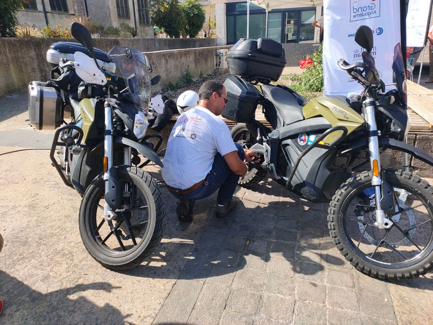 Les motos aussi peuvent être électriques.